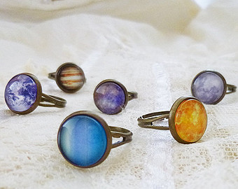 Popular items for planet ring on Etsy