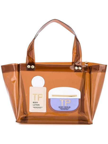 Theatre Products mini transparent women bag mini bag brown