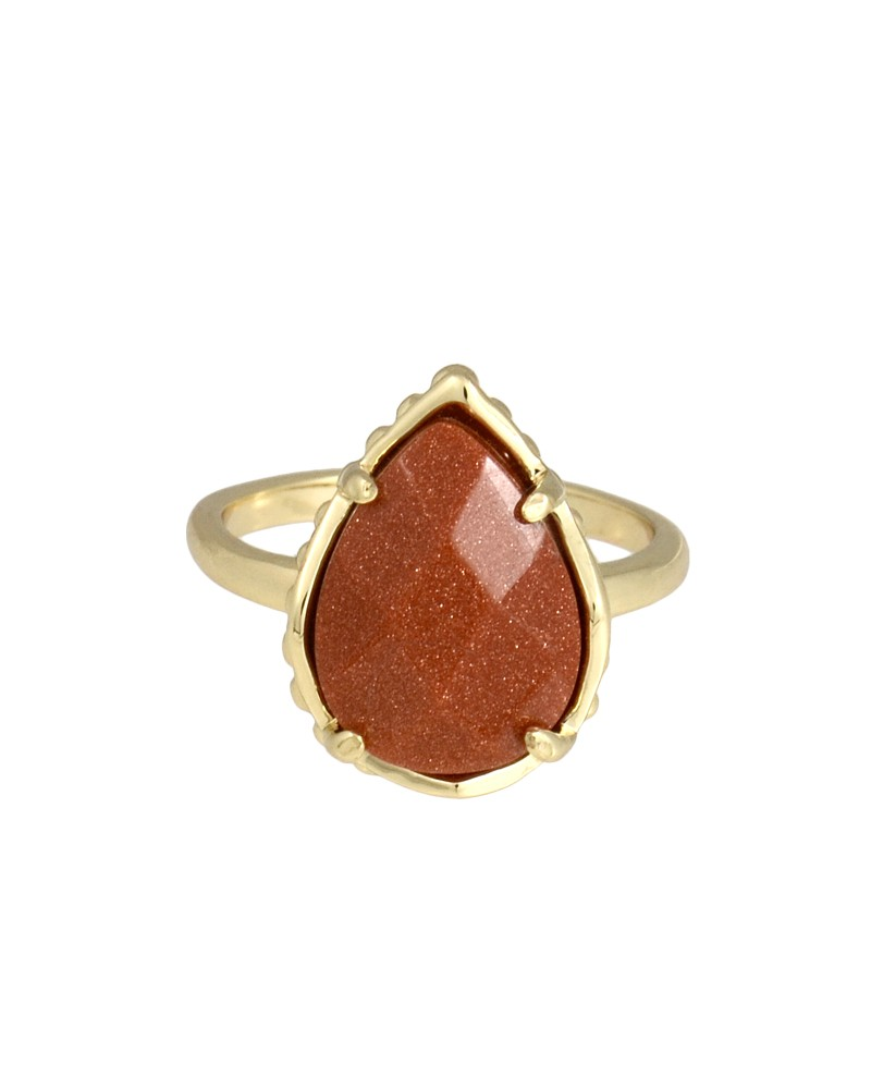 Daisy Ring in Goldstone - Kendra Scott Jewelry