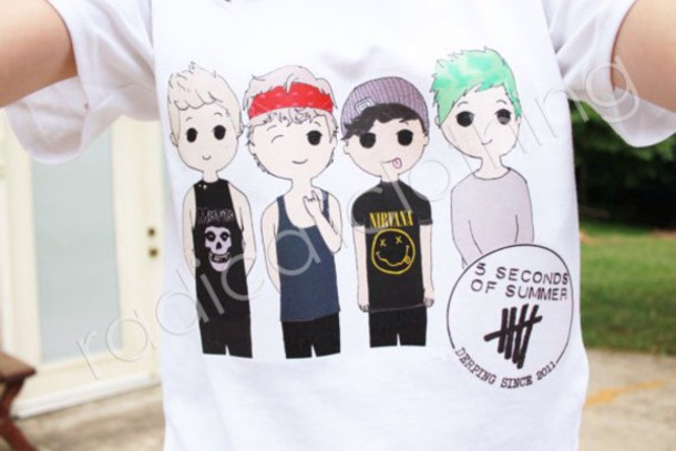 5 seconds of summer shirt