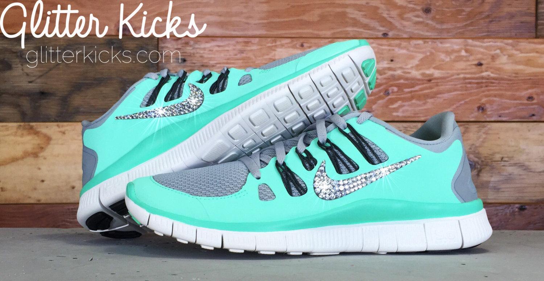 Nike De Recorrido Libre De 5,0 Para Mujer Rhinestone
