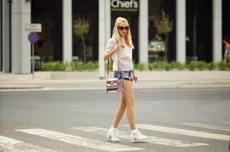 meri wild t-shirt shorts bag sunglasses jewels shoes