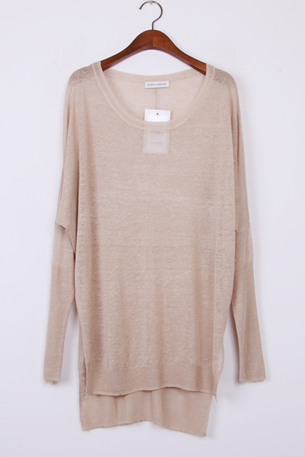 Batwing Long Sleeve Sweater - OASAP.com