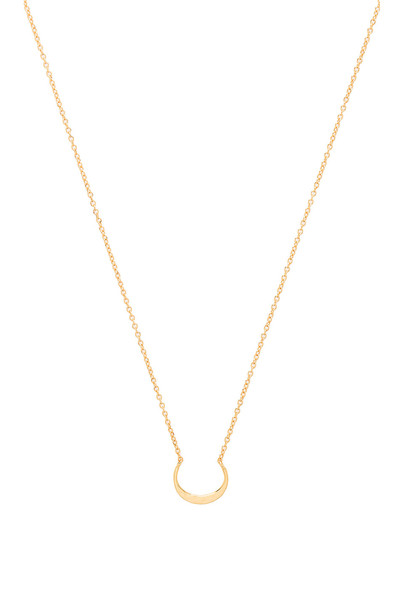 gorjana Silas Necklace in gold / metallic