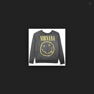 sweater nirvana grey sweater grey nirvana sweater