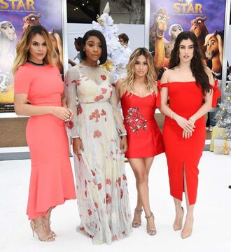 dress mini dress midi dress gown maxi dress fifth harmony ally brooke dinah jane hansen lauren jauregui normani kordei hamilton