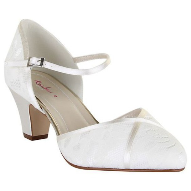 742657e3298f shoes wide fit shoes wide fit wide shoes white shoes pumps wedding shoes  ankle strap pointed