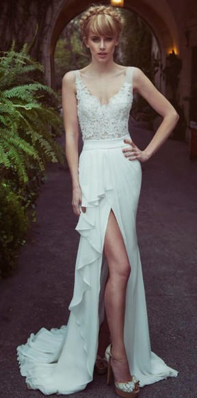 dress white dress 2014 prom dresses prom dresses long prom dresses model