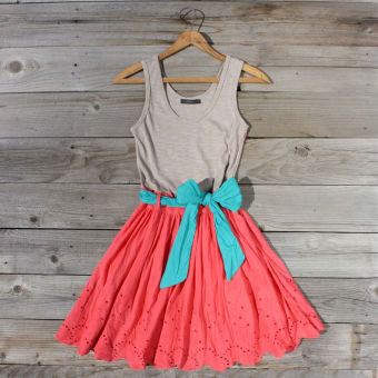 Spin & Loom Dress in Watermelon, Sweet Women's Country Clothing ($50-100) - Svpply