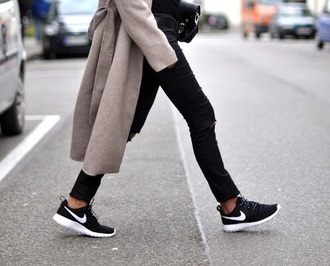 shoes black nike shoes black shoes black and white shoes coat