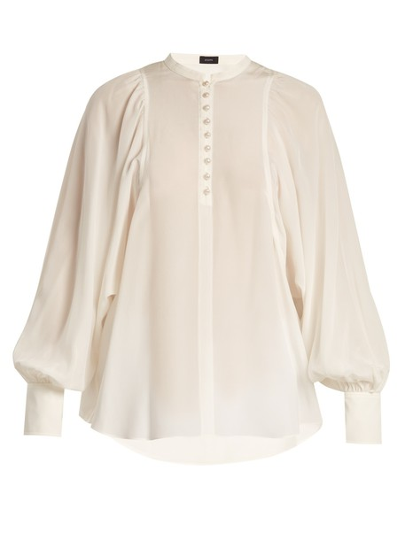 Joseph blouse silk top