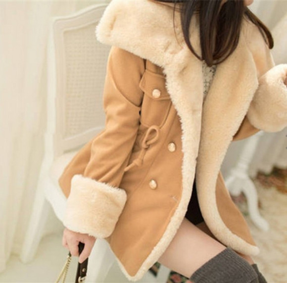 cute khaki coat warm warm winter coats winter coat