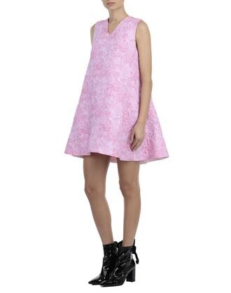 dress floral pattern pink