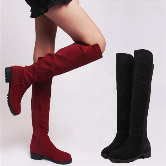Aliexpress.com : Buy Womens Boots Ladies New Fashion Sexy Knee ...