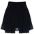 ROMWE | High-rise Puffy Pleated Black Skirt, The Latest Street Fashion