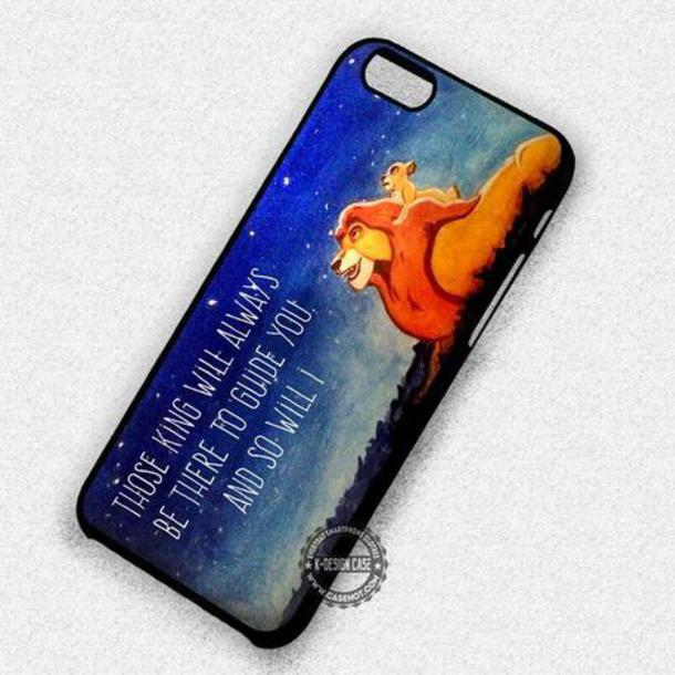 Disney The Lion King iphone case
