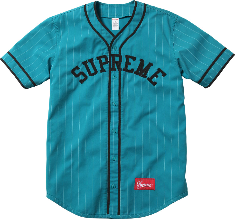 Supreme baseball jersey for Baseball button up t shirt dress