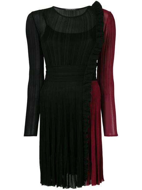 dress pleated dress pleated women black