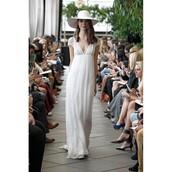dress,wedding dress,delphine cardi,high-low dresses