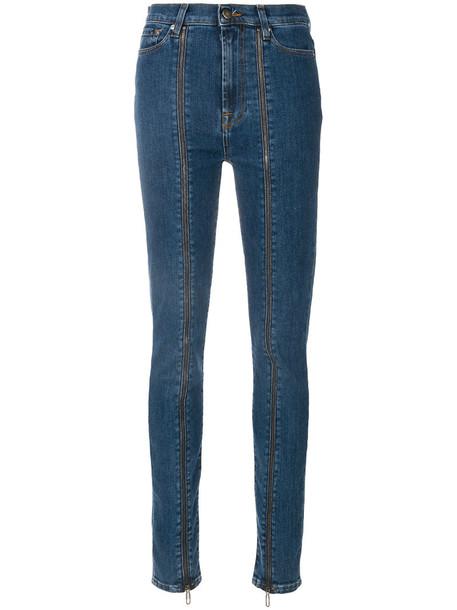 Circus Hotel jeans women cotton blue