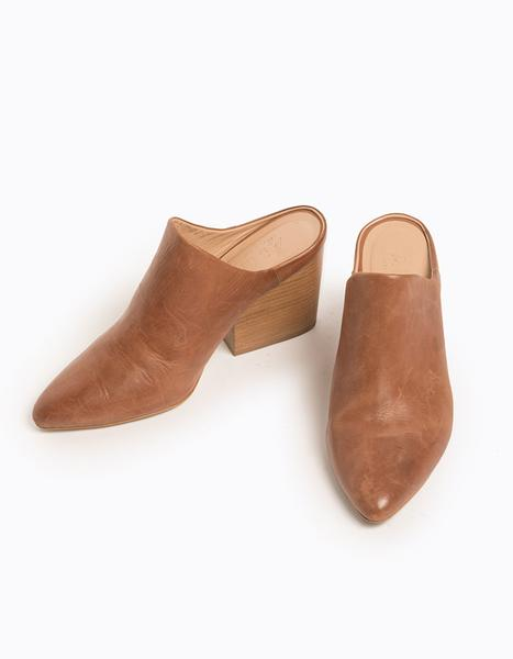 Able Rojas Leather Mules