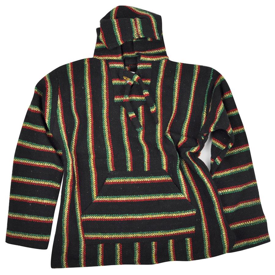 Rasta baja hoodie
