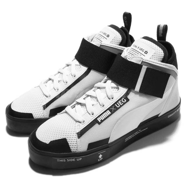 5a4a21935d3 Puma x UEG Court Play Gravity Resistance Pack White Black Men ...
