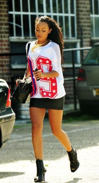 shirt leigh-anne pinnock