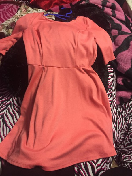 dress open from the back skater dress fox ruby