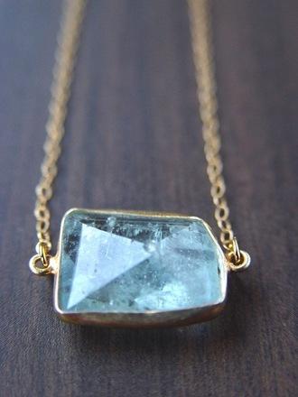 jewels gold chain crystal gemstone opal