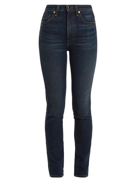 KHAITE jeans skinny jeans high
