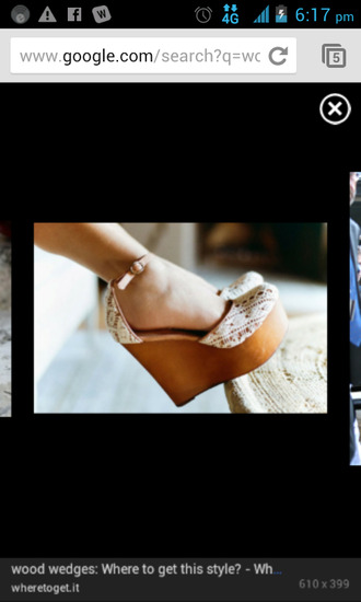 shoes wooden wedges