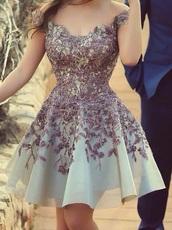 dress,purple appliqués,blue and purple dress,muhammad photography