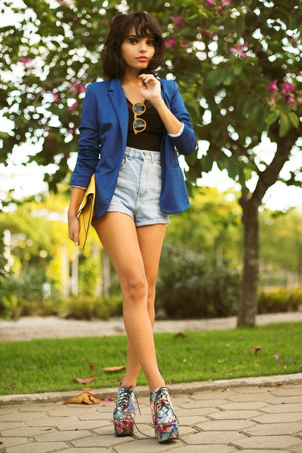 instinto de vestir shoes shorts t-shirt jacket bag