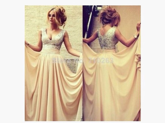 haute pursuit dress prom dress nude fashion haute & rebellious girly long dress long dresses
