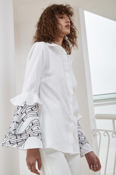 C/MEO COLLECTIVE shirt white top
