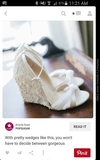 shoes lace wedding wedges