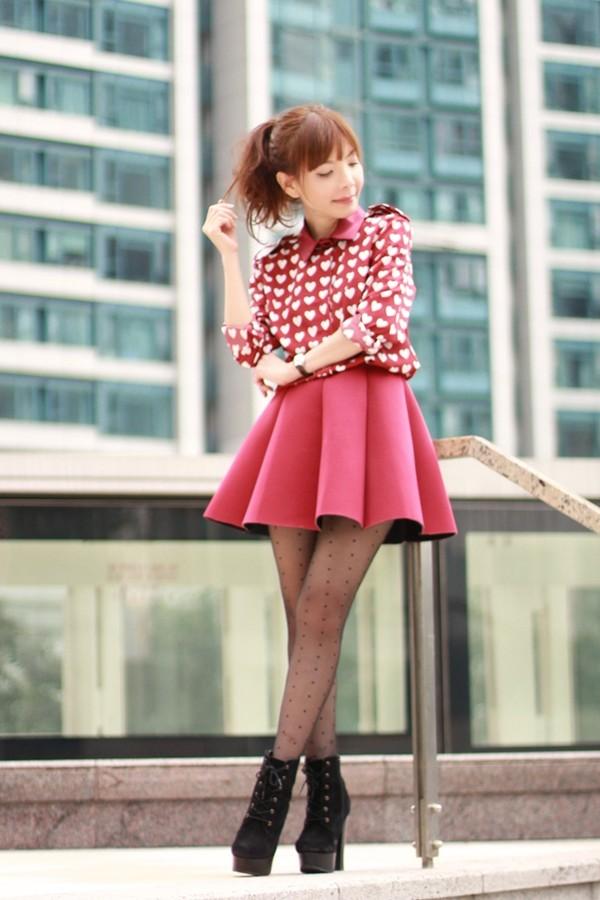 mochaccinoland shirt skirt