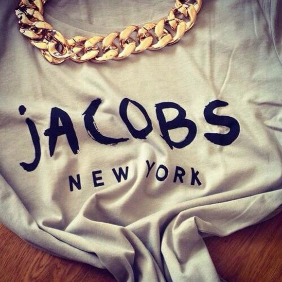 black and white shirt jacobs new york