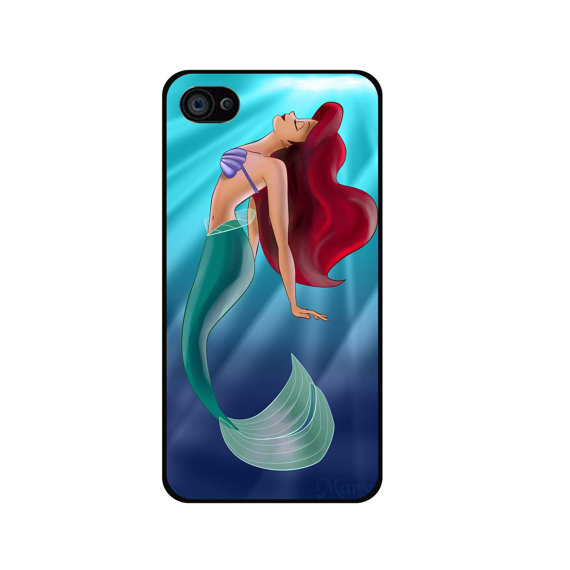 The little mermaid iphone 4 case iphone 5/ 5s/ 5c ipod by bestbox