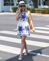 bag,dress,reese witherspoon,sunglasses