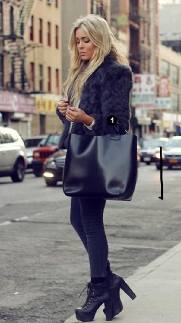 jacket bag shoes