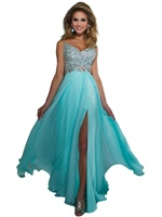 Cassandra Stone 64364A - Spaghetti Strap Long Dress