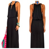 dress,melissa odabash,black dress,jumpsuit,white jumpsuit,topshop