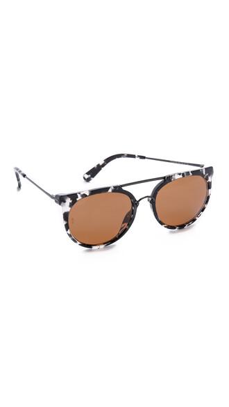 sunglasses black bronze