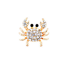 Shari Couture Crab Gold Ring – Shari Couture
