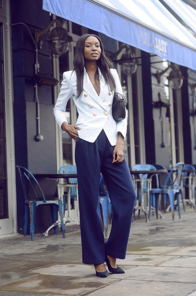 bisous natascha blogger jacket pants bag shoes