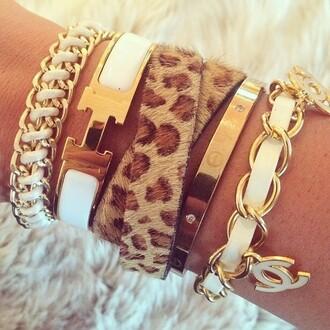 jewels hermes bracelet white gold leopard bracelet classy jewel gold bracelets