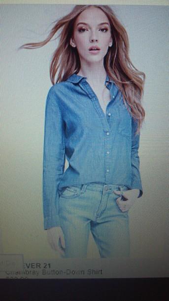 blouse forever 21 shirt