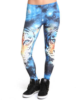Buy Tiger Galaxy Print Legging Women's Bottoms from Basic Essentials. Find Basic Essentials fashions & more at DrJays.com